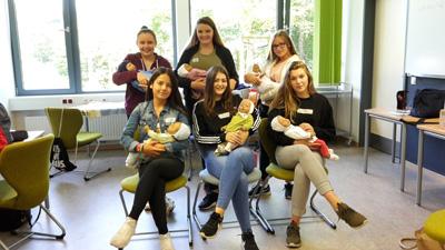 """Projekt """"Schnulleralarm"""" – Elternschaft lernen"""