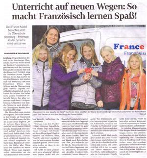Presse: France-Mobil