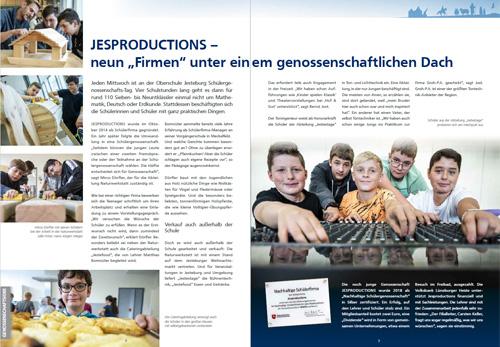 JESPRODUCTIONS Volksbank Magazin